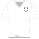 wolfmillionaire-vneck-white-front